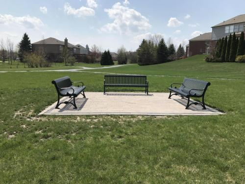 our new park benches installed July 2016